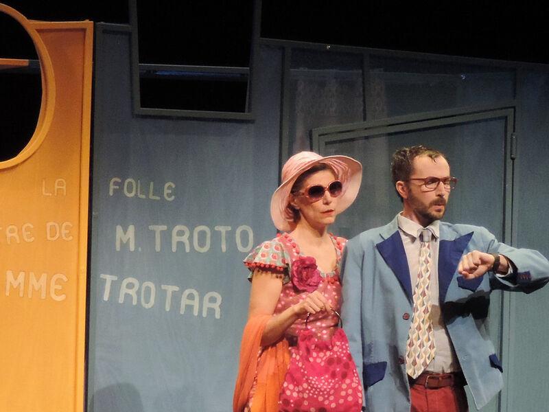 Théâtre : la folle rencontre de M. Troto et Mme Trotar
