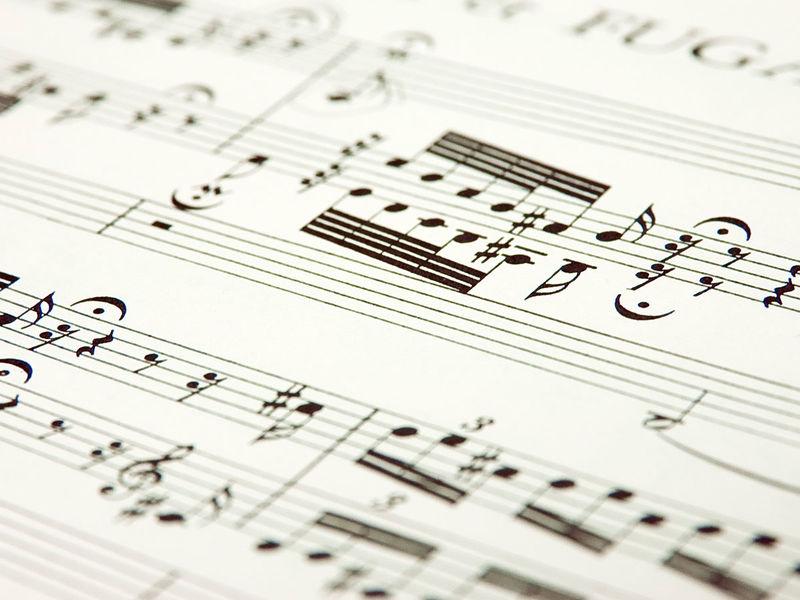 Partition de musique.