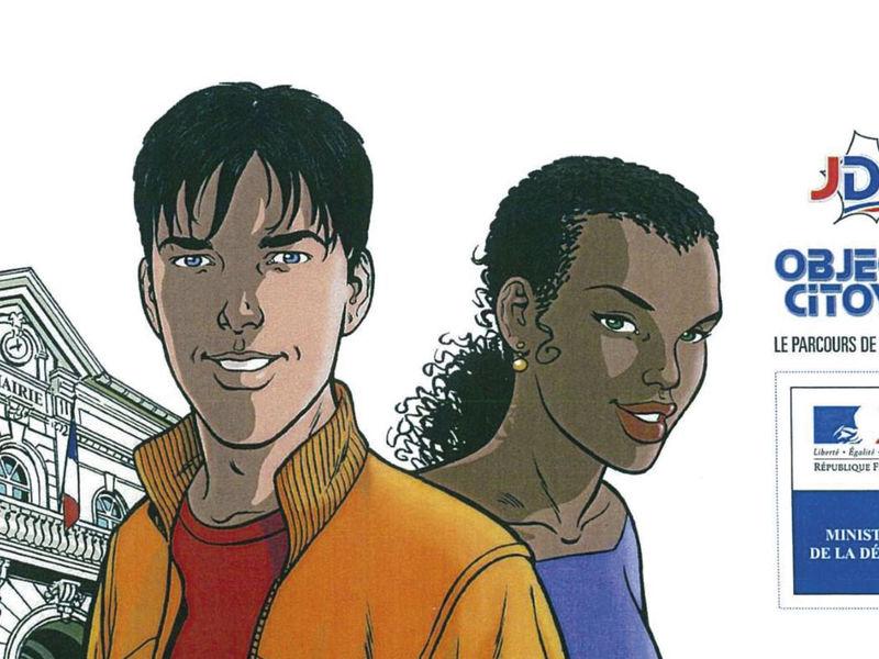 Affiche pour le recensement obligatoire pour les 16 ans