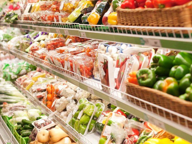 Rayon de fruits et légumes