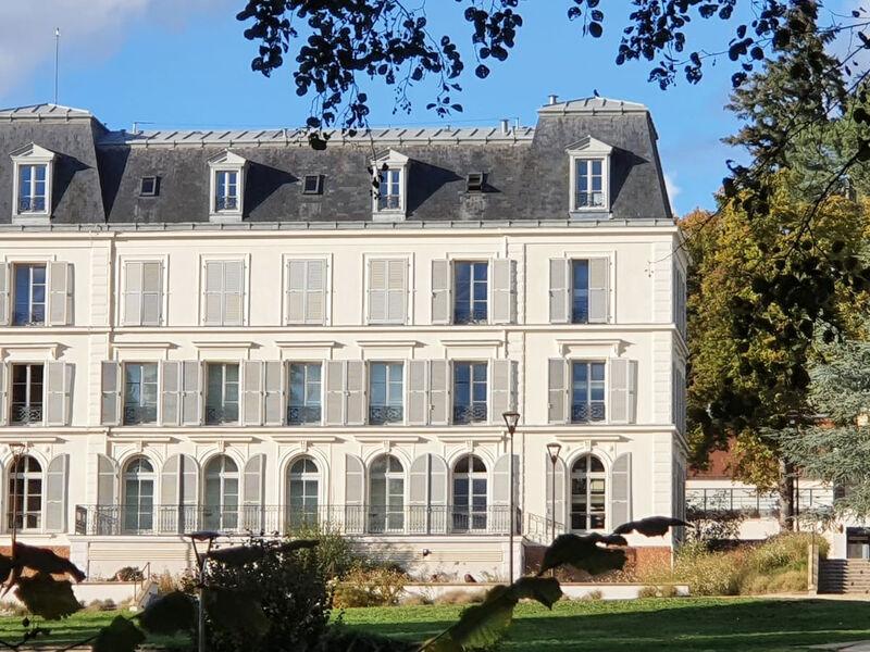 Château du Val Fleury - Côté parc - Octobre 2020